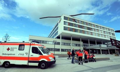 Großübung am neuen Klinikum - NQ Online - Die Neckarquelle